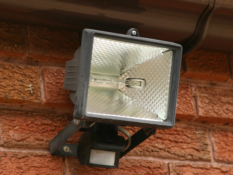 Lighting - Burglary Prevention